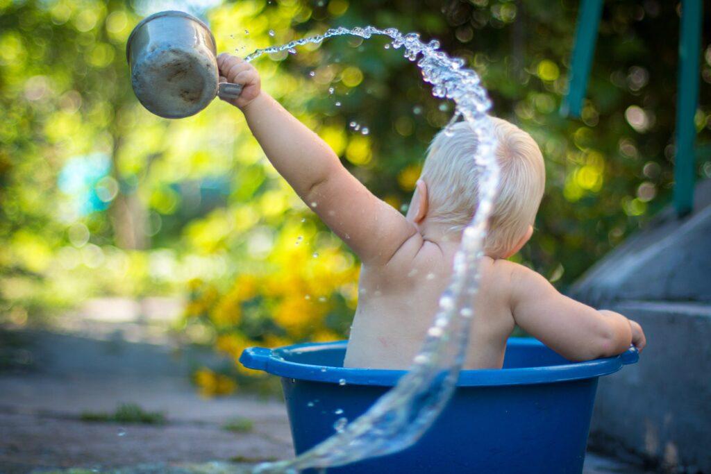 emmer in douche